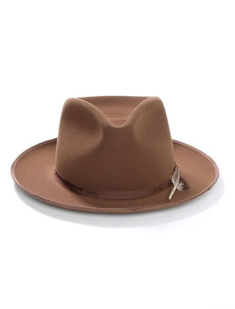 8916123fd51aa Stetson 1865 Distressed Stratoliner