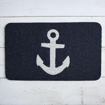 Anchor Floor Mat #westelm $30