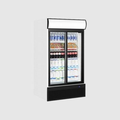When It Comes To Ultimate Storage And Capacity Stylish Double Door Fridges And Freezers Are The Pe Double Glass Doors Glass Door Fridge Double Glass