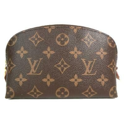 Louis Vuitton Pochette Cosmetic Makeup Pouch M47515 Monogram Brown Used Vintage Fas In 2020 Louis Vuitton Cosmetic Pouch Louis Vuitton Monogram Louis Vuitton Pochette