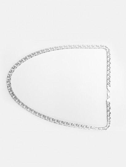سلسله فضة عيار 925 سلسلة جنزير فضة ايطالى Diamond Necklace Diamond Jewelry