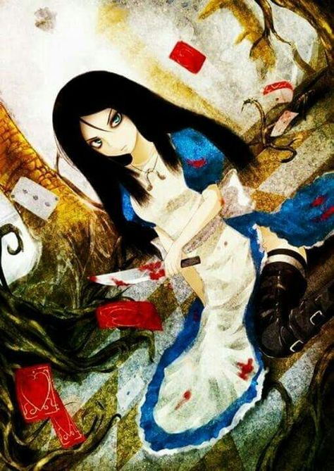 Pin De Nekura 89 Em Alice Alice No Pais Das Maravilhas Alice Anime