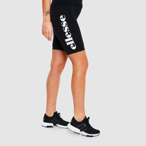 ellesse Shorts Damen Tour Cycle Short Schwarz Black
