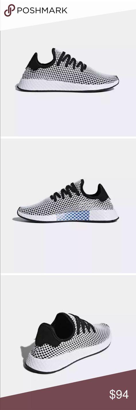 adidas Originals Deerupt Runner PinkMulti   very.co.uk