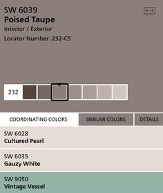 2017 Color Of The Year Poised Taupe Image Courtesy Sherwin Williams