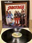Black Sabbath Sabotage Lp Record Warner Brothers Original 1975 Press Strong Vg Vinyl Record With Images Black Sabbath Warner Brothers The Originals
