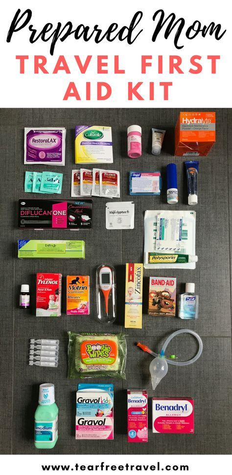 Mom Travel First Aid Kit Travel Medicine Kit Traveling By