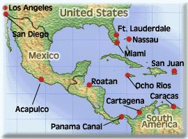 map of panama canal Google Search