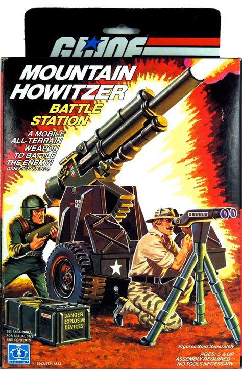 GI Joe Toss /'N Cross Bridge Layer Cannon Gun Vintage Part 1985 G I