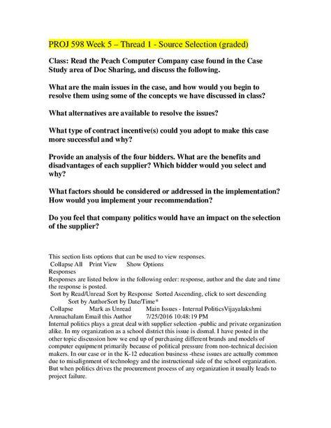 18 best PROJ 598 Contracts and Procurement Management - July 2016 - export contract