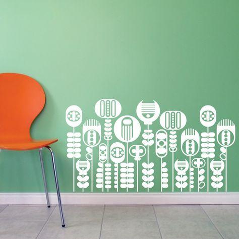 Vinilos decorativos en tus espacios! Prueba con este diseño!