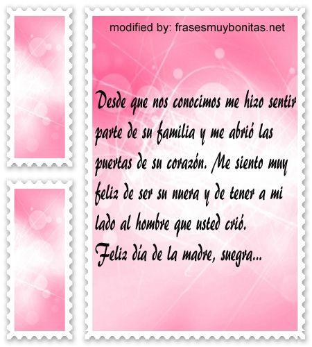 Tarjetas Para Suegra En El Dia De La Madre Mejor Dia De Con