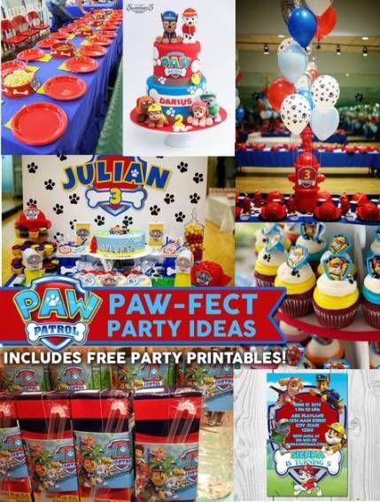 Birthday Party Decorations Ideas Paw Patrol 39 Ideas Party