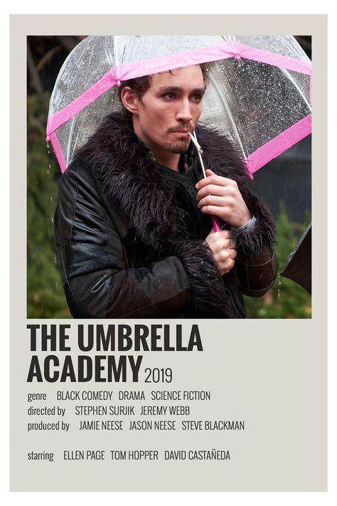 alternative movie posters umbrella academy