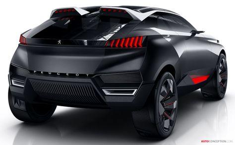 Peugeot Reveals New Hybrid SUV Concept - AutoConception.com