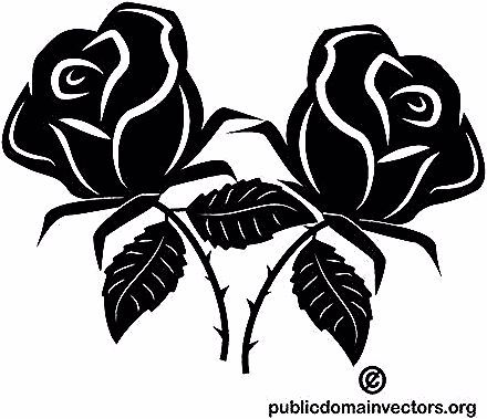 Gambar Tangkai Bunga Animasi 366 Mawar Clipart Gratis Domain Publik Vektor Kumpulan Gambar Kartun Bunga Mawar Haria Flower Drawing Red Rose Flower Drawings