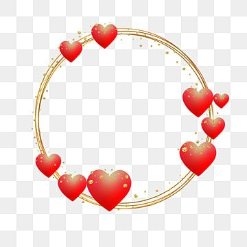 Marco Con Corazones Y Oro Para Celebracion Enamorado Corazones Marco Corazones Png Y Vector Para Descargar Gratis Pngtree Heart Frame Clip Art Valentines Frames