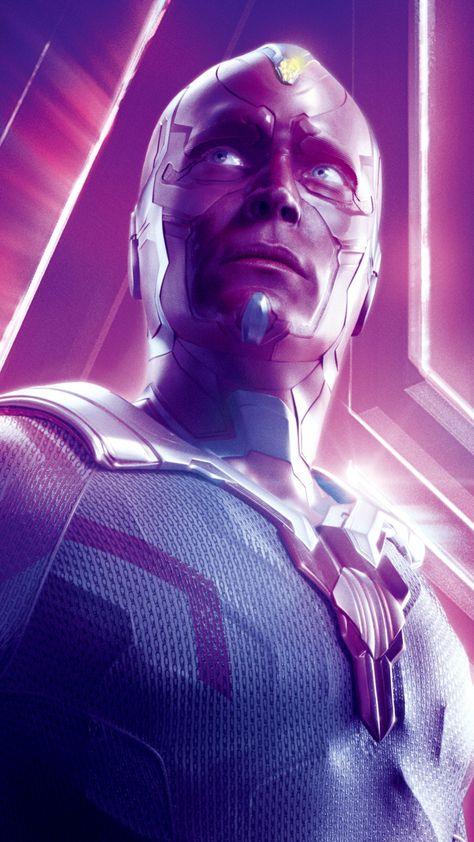 Paul Bettany, Vision, superhero, Avengers: Infinity war, 2018 movie, 720x1280 wallpaper