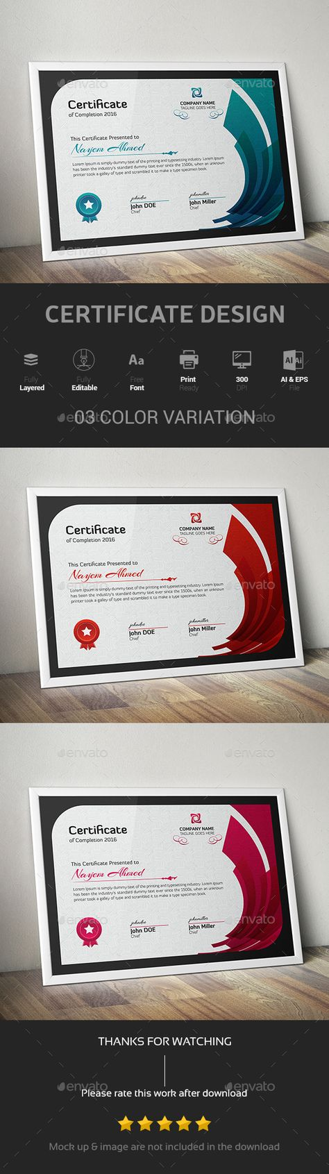 Academy Logo Reconstruction and Certificate | Certificate Design ...