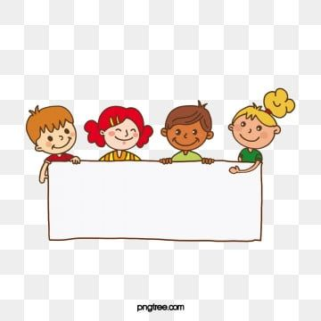 Hand Drawn Cute Children Holding Sign Illustration Children Clipart Placards White Png Transparent Clipart Image And Psd File For Free Download How To Draw Hands Cartoon Clip Art Free Clip Art