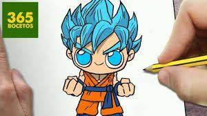 Dibujos Kawaii 365 Bocetos Dragon Ball Buscar Con Google Cómo Dibujar A Goku Dibujos Kawaii Faciles Dibujos Kawaii