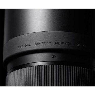 Sigma 50 100mm F 1 8 Dc Hsm Art Lens For Nikon F Cameras Art