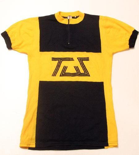 70 S Vintage Cycle Jersey Made In Belgium