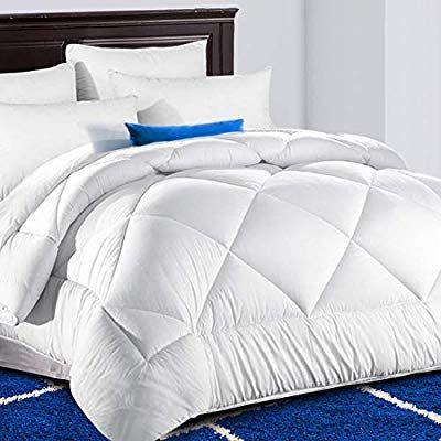 Tekamon All Season Queen Comforter Soft Quilted Down