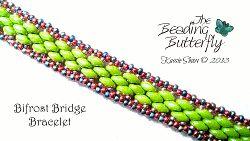 Bifrost Bridge Bracelet Tutorial