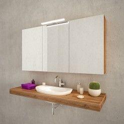 Bad Spiegelschrank Mit Led Leuchte Pandora Badspiegelschrank