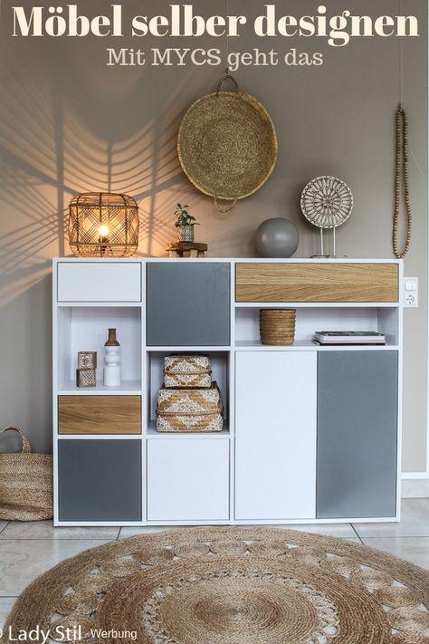 Designe Deine Mobel Selber Lady Stil De Wohnzimmer Einrichten Regal Selber Bauen Einrichtungstipps