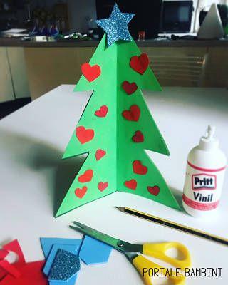Lavoretti Per Albero Di Natale.Albero Di Natale Fai Da Te 1 Lavoretti Di Natale Lavoretti