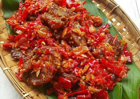 Resep Dendeng Balado Basah Oleh Xander S Kitchen Resep Resep Masakan Resep Resep Masakan Malaysia