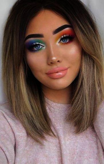 Makeup Video Player Inside Best Eyeshadow Tutorial For Brown Eyes On Eyeshadow L Brown Simple Eyeshadow Eyeshadow Tutorial Eyeshadow Basics