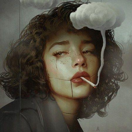 Illustrations By Aykut Aydogdu Ideias Fotografia Surrealista