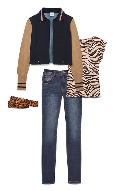 Check out five unique ways to mix and match the Turn Back Cardigan with other cabi items!