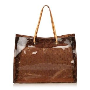 2eedfbd0f Louis Vuitton Lv Amber Lv Lv Beach Artsy Tote in Clear Ambre | Kl in ...