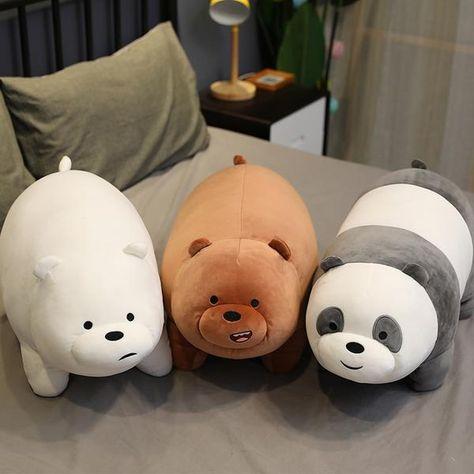 Giant Stuffed  Animals Bear grizzly panda icebear Plush Toys