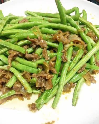 Resep Tumis Buncis Daging Cincang Ala Resto Ta Wan 5resepterbaruku Oleh Luna Resep Tumis Daging Cincang Resep
