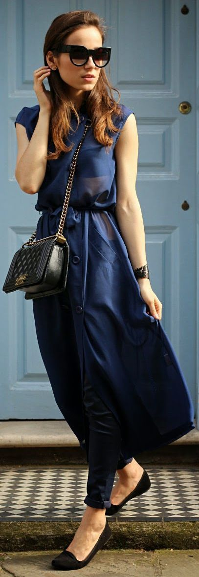 Chanel sheer maxi colorful maxi dress