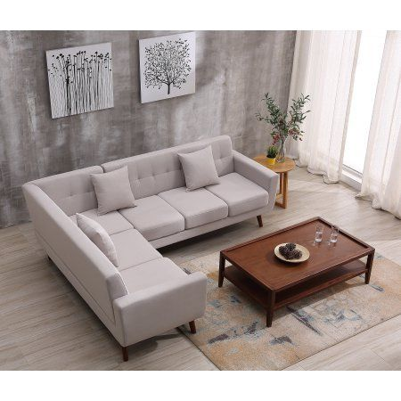 Home Mid Century Sectional Sofa Mid Century Furniture