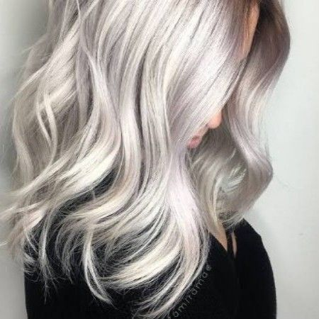 درجات لون صبغة رمادي غامق اشقر و بلاتيني الانواع و طريقة الصبغ صبغة رمادي صبغة لوريال Platinumblonde Blonde Hair Color Silver Blonde Silver Blonde Hair