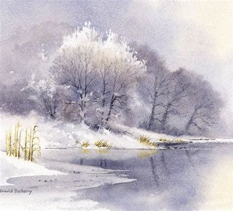 Image Result For Winter Watercolor Tree Winter Watercolor