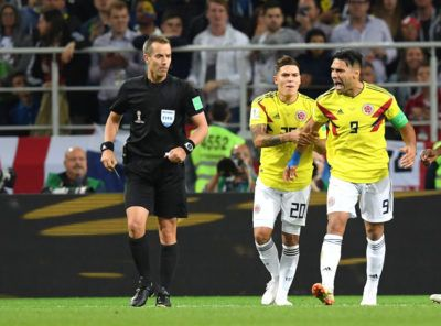 Colombia Vs England Referee S Bias Was Certain Radamel Falcao Radamel Falcao Falcao Referee