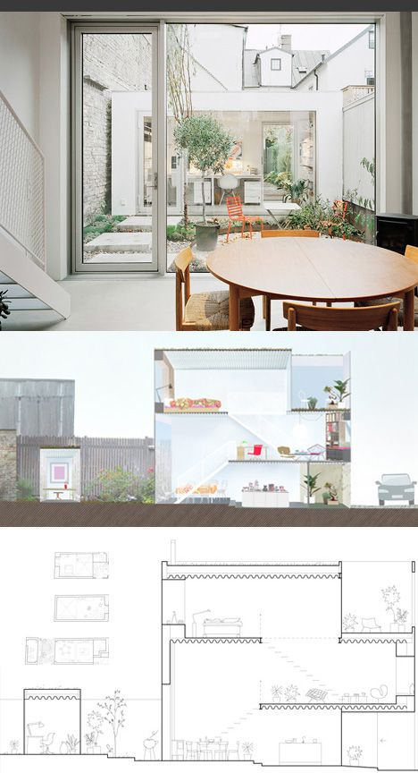 tower townhouse floor plans sections | hike | Pinterest | Townhouse, Tower  and Architecture