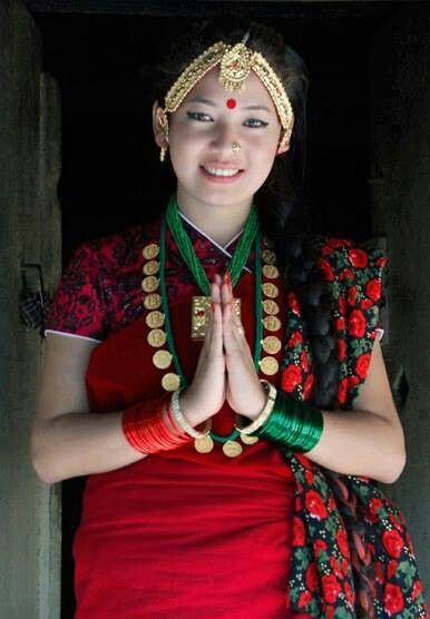 639 best people in nepal images on pinterest faces nepal and nepali girl in authentic dress ccuart Images
