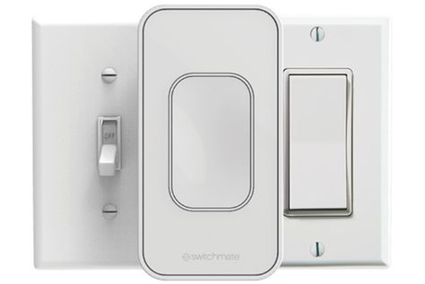 Switchmate S Bluetooth Le Device Mounts On Top Of Existing Switches For Quick And Easy Smart Lighting Retrofits But It Switchmate Smart Lighting Light Switch
