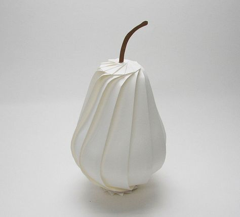 Origami Pear repin by Heather Medes