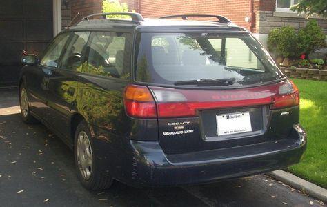 2002 Subaru Legacy Wagon Blue Google Search