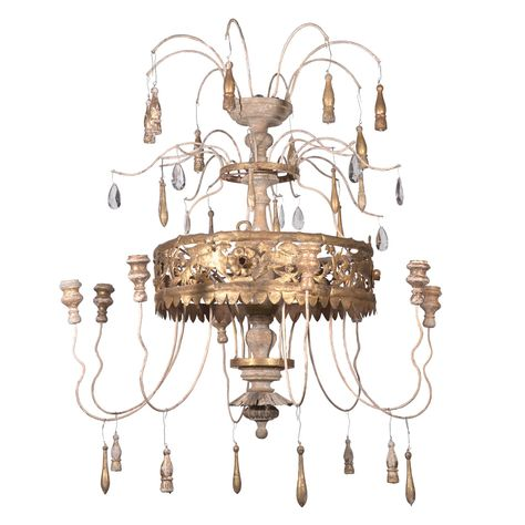 Antique Florentine-Italian Gilt Fern Crown Chandelier   From a unique collection of antique and modern chandeliers and pendants  at https://www.1stdibs.com/furniture/lighting/chandeliers-pendant-lights/